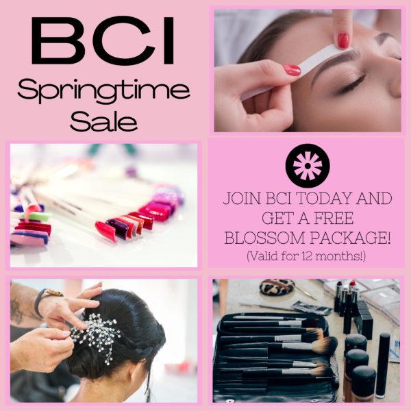 BCI Springtime sale