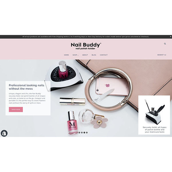 Nail-Buddy-website